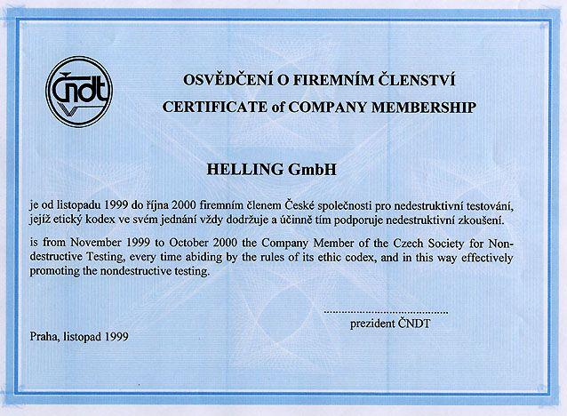 Ukázka certifikátu
